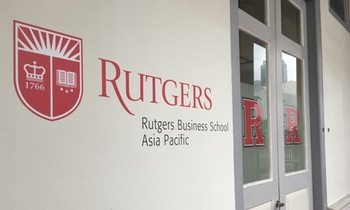 Visiting Rutgers Business School in Singapore