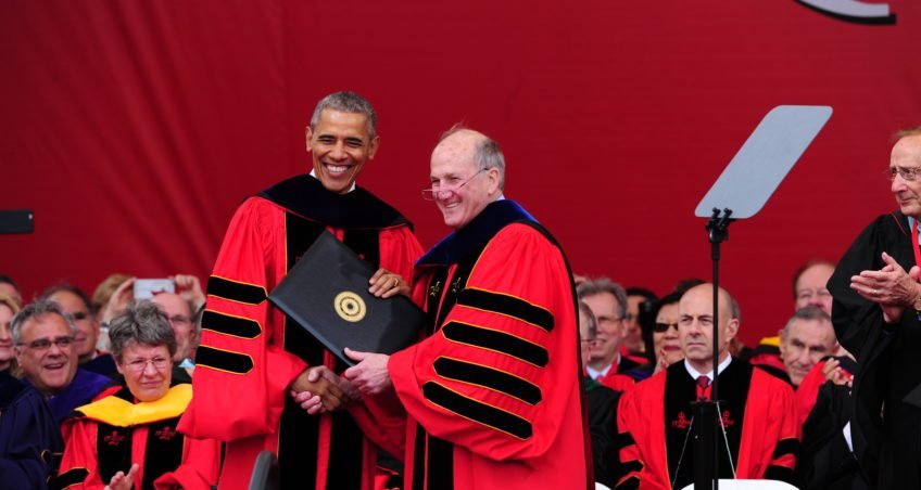 President Barack Obama Delivers Rutgers Commencement Address
